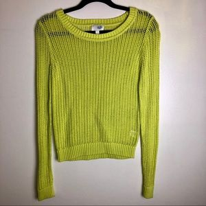 Sweaters - Lime green sweater